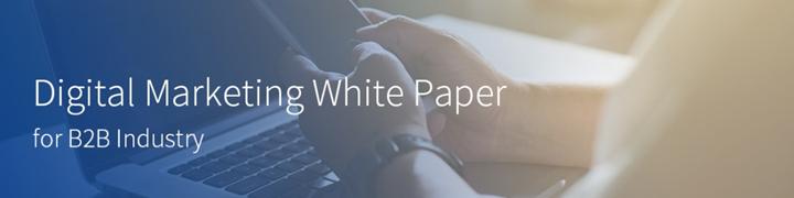 B2B行业数字营销白皮书