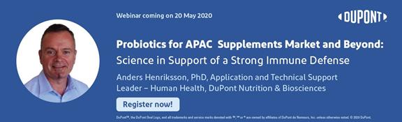 Click for Registration for DuPont AP Probiotics Webinar