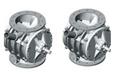 Rotary valve for fragile food