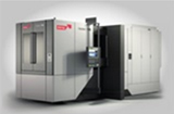 5-axis machining centre with rotary table
